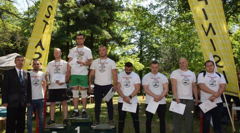 Първокурсник спечели десетото издание на турнира по силов многобой в Русенския университет