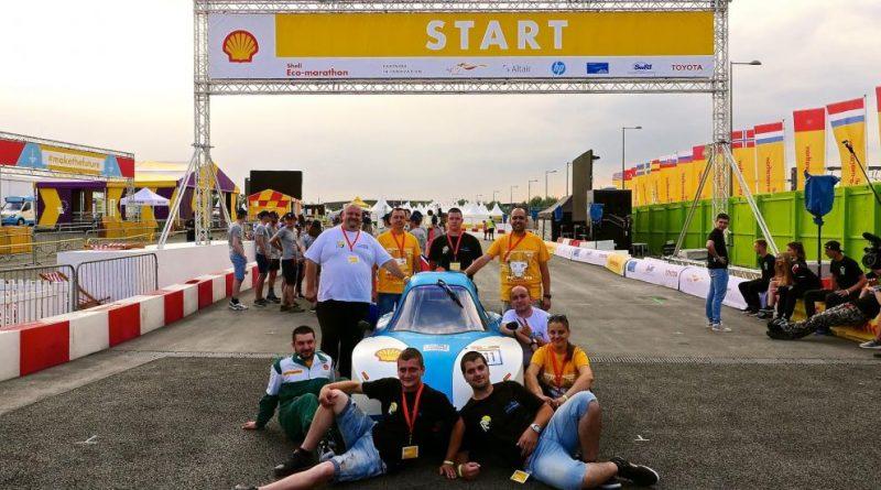 Силно представяне на университета в състезание за енергийно ефективни автомобили